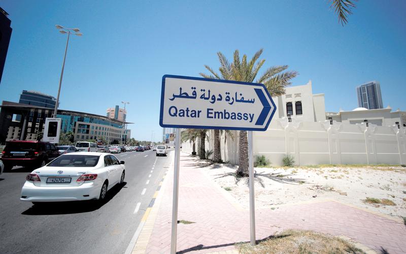 قطع الإمارات وعدد من الدول علاقاتها بقطر جاء على خلفية استمرار السياسات العدائية والتخريبية التي تتبعها الدوحة. رويترز