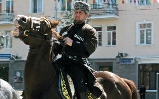 الصورة: رئيس الشيشان يتخطى ترودو وماكرون على «إنستغرام»