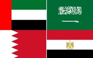 """الصورة: """"الدول المقاطعة الأربع"""" ترد على مضمون تقرير البعثة الفنية لمفوضية الأمم المتحدة السامية لحقوق الإنسان التي زارت الدوحة في نوفمبر 2017"""