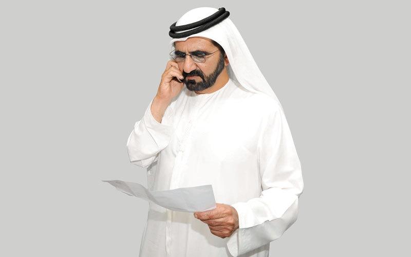 محمد بن راشد يفاجـــئ المتفوقات في الثانوية العامة باتصال هاتفي