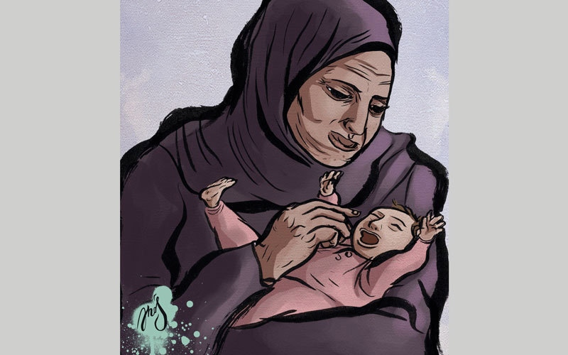 أسرة «أميرة» تعجز عن سداد فاتورة علاجها بـ31 ألف درهم