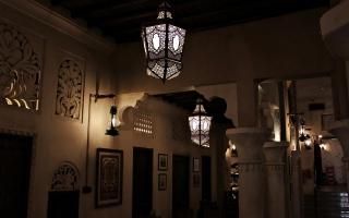 """الصورة: بالفيديو.. """"بن غافان"""" ودور المقاهي قديماً"""