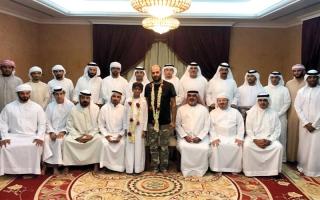 الصورة: جلسة رمضانية لنادي رحالة الإمارات لتكريم المغامرين