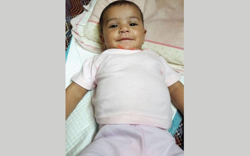 متبرع يتكفل بعلاج  الرضيعة «حمدة»