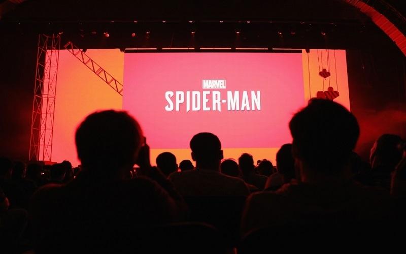 """الصورة: سوني تكشف النقاب عن لعبة """"الرجل العنكبوت"""" الجديدة في معرض E3"""