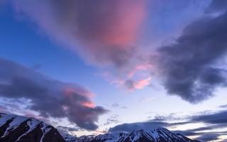 الصورة: بالفيديو...ضوء شمس منتصف الليل في ايسلندا
