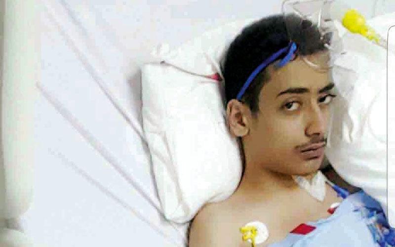 «عبدالرحمن» يعاني مشكلات في القلب منذ الطفولة