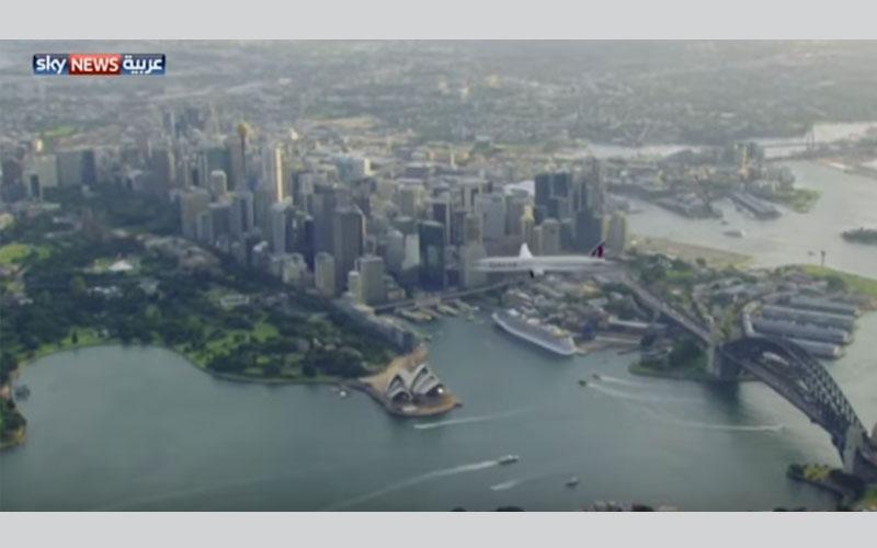 الصورة: أستراليا تلوح بحظر دخول الطيران القطري إلى أجوائها