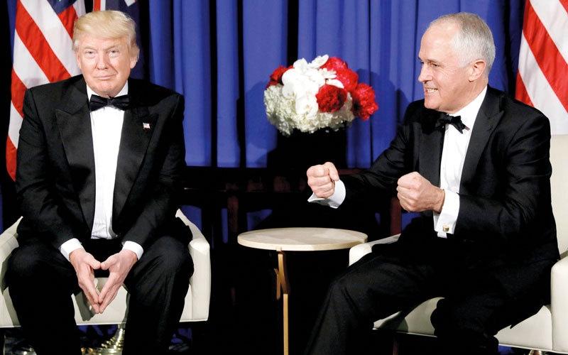 تيرنبول يسخر من ترامب في تسجيل صوتي مسرّب