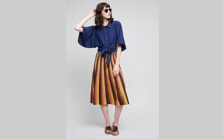 الصورة: التنورة «الميدي» تتربع على عرش الموضة