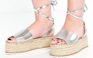 الصورة: «الإسبادريل» بديل عن الحذاء ذي الكعب العالي