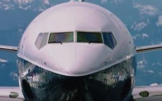 """بالفيديو.. طائرة """"737 MAX 9"""""""