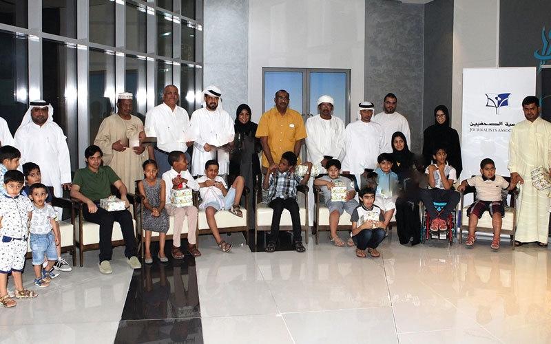 «الصحافيين» تنظم إفطاراً جماعياً مع أطفال التوحد