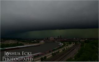 """الصورة: بالفيديو...عاصفة """"سانت باول"""" بـ """"time lapse"""""""