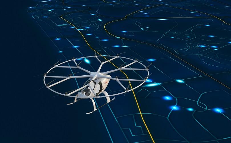دبي تشغل التاكسي الجوي تجريبيا خلال الربع الاخير من العام الحالي