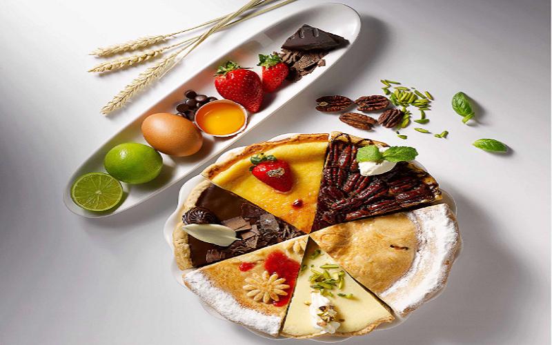 كيك وفطائر أميركية بنكهات رمضانية عربية