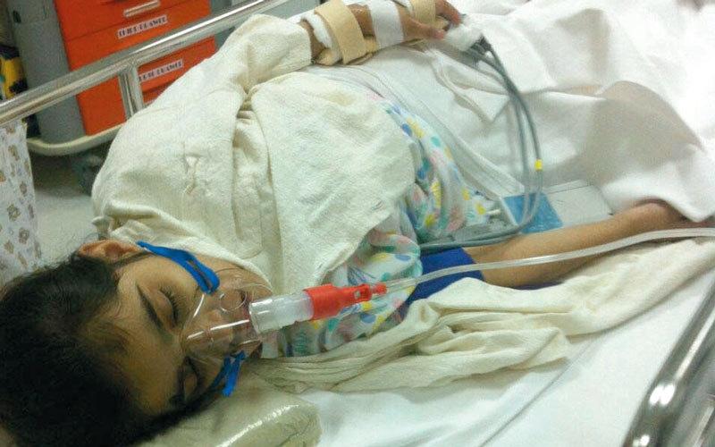 متبرع يتكفل بعلاج الطفلة «إيمان» من مرض وراثي