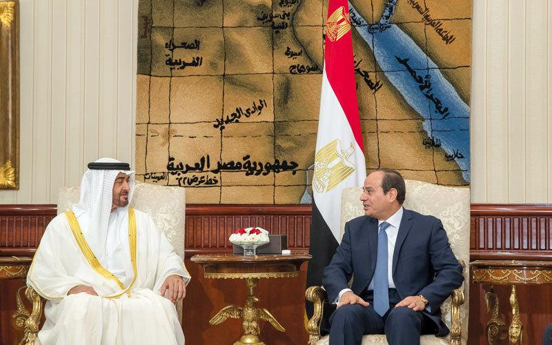 محمد بن زايد: تصاعد خطر الإرهاب يتطلب من الدول العربية أن تقف صفاً واحداً في مواجهته