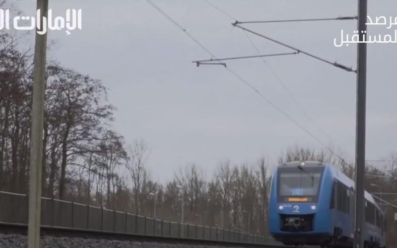 الصورة: بالفيديو.. قطار صديق للبيئة