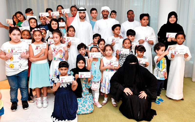 بالفيديو.. «الإمارات اليوم» و«شؤون القُصّر» تسعدان 80 طفلاً يتيماً