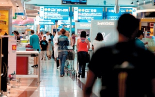 انطلاق أول رحلة حج عبر مطار دبي