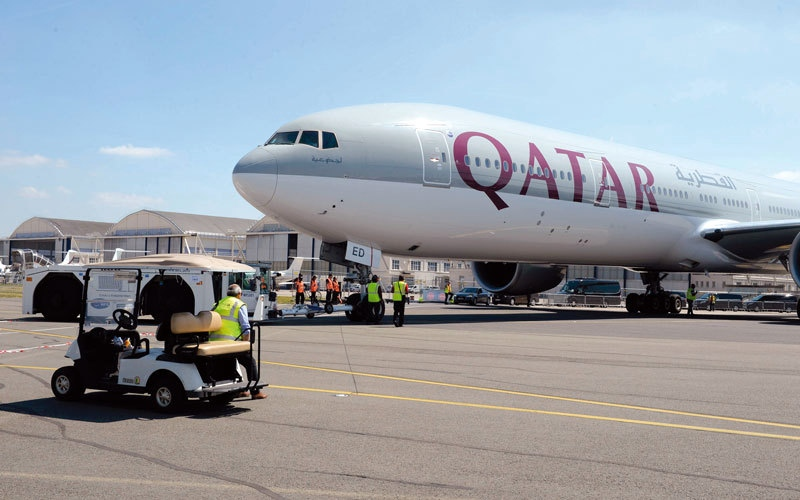 الصورة: الخطوط الجوية القطرية تلغي طلبية لـ 4 طائرات إيرباص A350