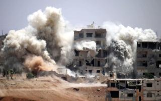الصورة: المعارضة تطلق معركة الطريق إلى دمشق من القنيطرة