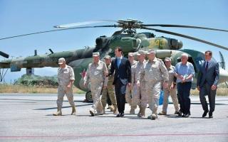 الصورة: واشنطن تتوعّد الأسد إذا استخدم الكيماوي.. والكرملين يندّد بتهديداتها