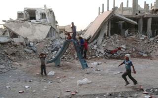 الصورة: فرنسا ترى فرصة للسلام في سورية  عبر حوار أوثق مع روسيا