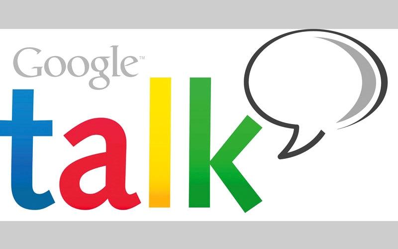 الصورة: «غوغل» توقف خدمة التراسل الفوري Talk