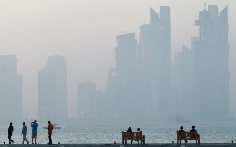 الصورة: قطر مطالبة بالتحول بمقدار 180 درجة في سياستها الخارجية الداعمة للإرهاب