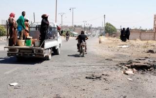 الصورة: «قسد» تتكبد خسائر كبيرة في معارك الرقة