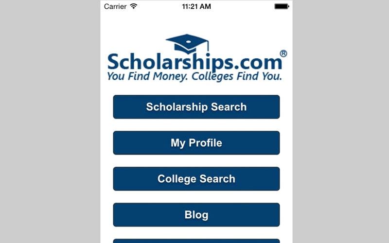 الصورة: Scholarships.com.. للعثور على المنح الدراسية وبيانات الاتصال بالمانحين