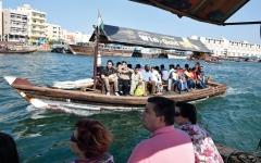 الصورة: دبي.. قوارب ومراسٍ ويخوت تربط الحاضر بالماضي