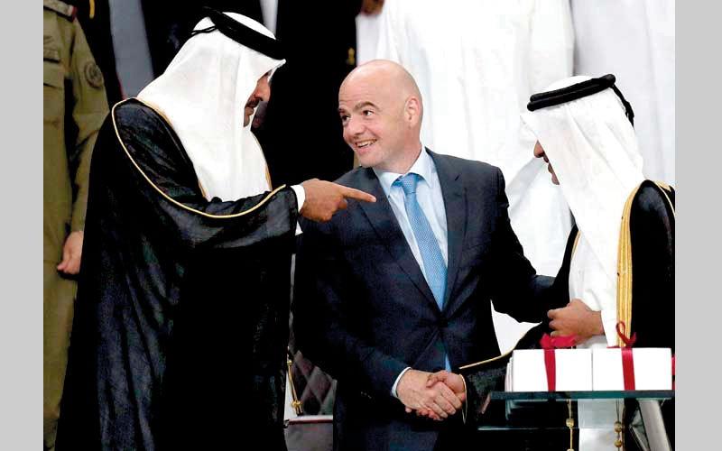 الصورة: قطر تواجه اتهامات فساد جديدة بشـأن كأس العالم