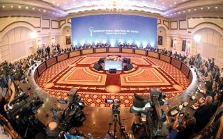 الصورة: إخفاق محادثات أستانا في التوصل إلى اتفاق حول مناطق خفض التصعيد بسورية