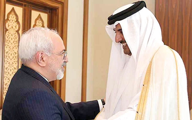 الصورة: قطر تمنح بدعمها للإرهاب النظام الإيــــــراني «الثغرة الاستراتيجية» لاستغــــــــلال الأزمــــة لمصلحته