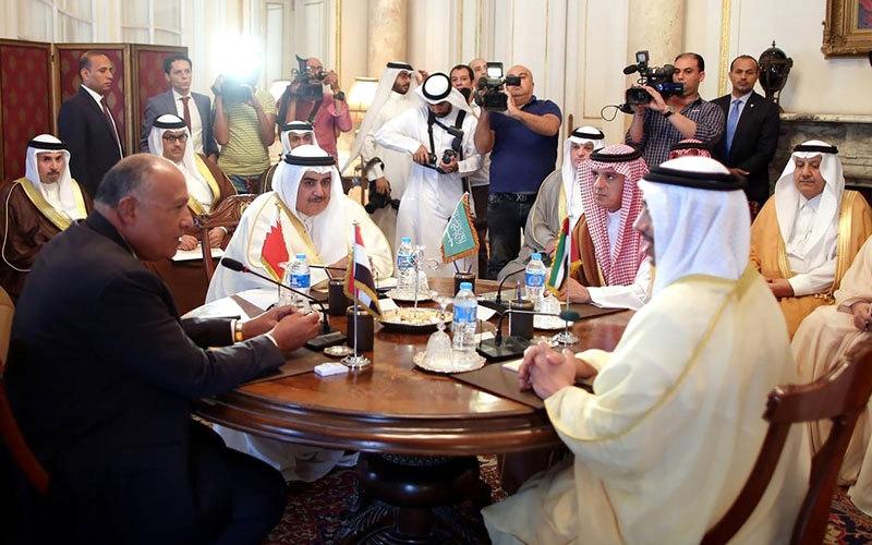 الصورة: رفض قطر مطالب الدول الداعية لمكافحة الإرهاب يعمّق أزمتها