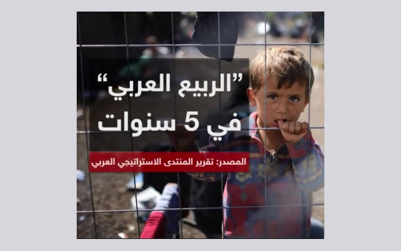 """الصورة: بالأرقام.. تكلفة """"الربيع العربي"""" في 5 سنوات"""