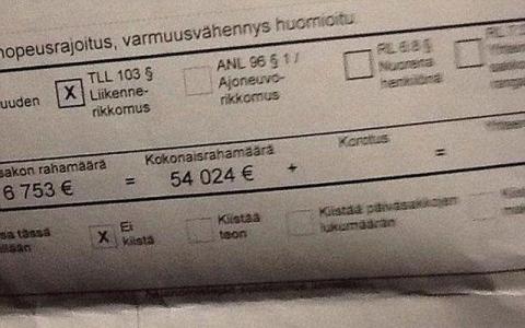 الصورة: في فنلندا.. مستوى الدخل يحدد قيمة المخالفة المرورية