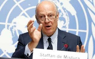 الصورة: الأمم المتحدة تتجه إلى إبرام اتفاق في سورية وتحذِّر من خطر التقسيم