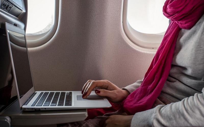 الصورة: مصادر: رفع حظر حمل أجهزة الكترونية على الطائرات من مصر لأميركا الأسبوع المقبل