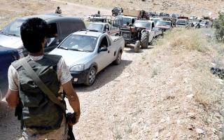 الصورة: لافروف: التزام عام بوقف إطلاق النار  في جنوب سورية