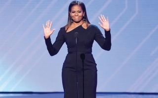 الصورة: حفل جوائز «إسبي» يستقبل   ميشيل أوباما بحفاوة بالغة