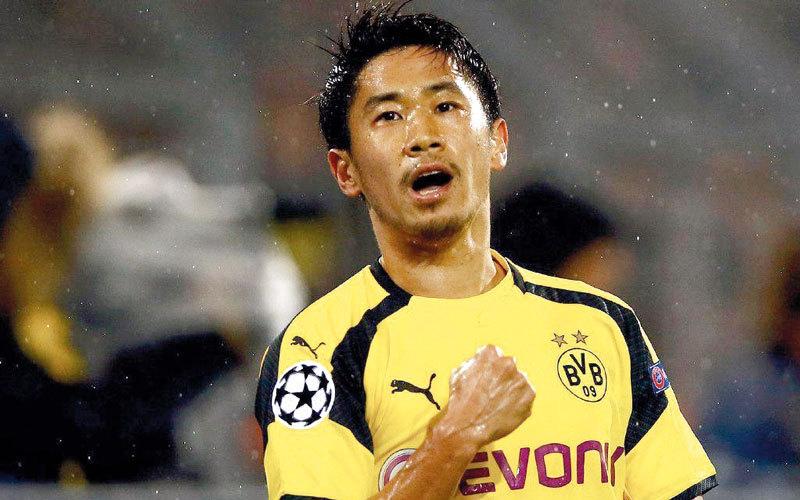 الصورة: الياباني كاغاوا يجدد عقده مع دورتموند حتى 2020