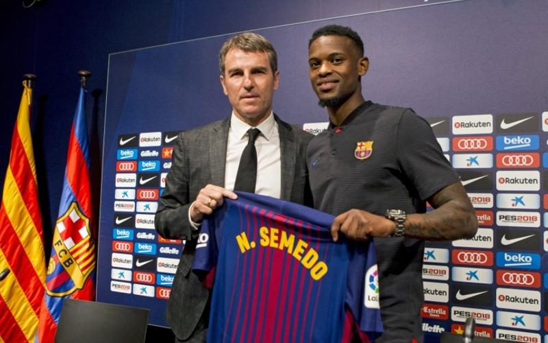 الصورة: سيميدو : سأخدم برشلونة حتى آخر قطرة عرق