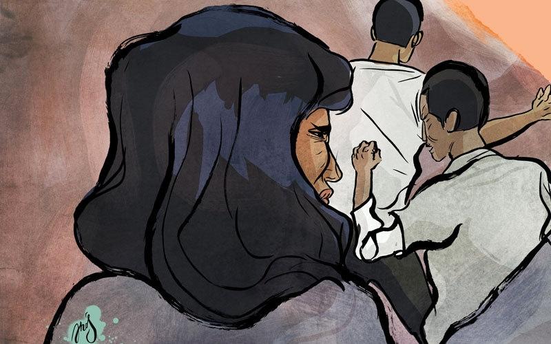 الصورة: شرطة دبي تلمّ شمل أسرة آسيوية فرّقتها الخلافات