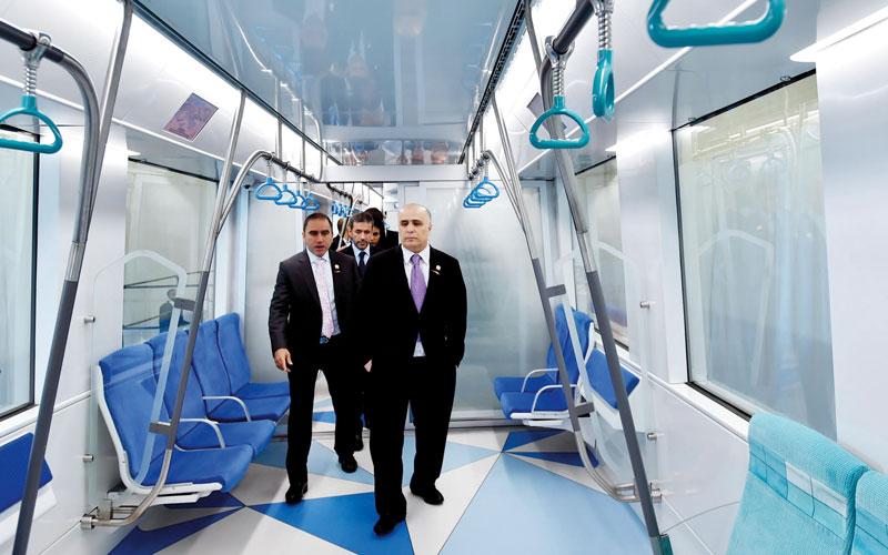 50 قطاراً جديداً لمترو دبي.. 15 منها  لخدمة «إكسبو» - الإمارات اليوم