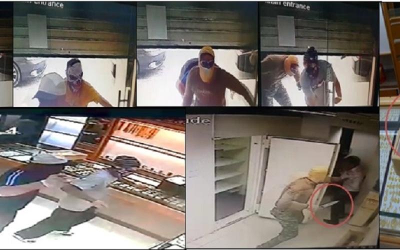 الصورة: عصابة تسطو بالإكراه على مجوهرات بـ3 ملايين درهم من محل ذهب