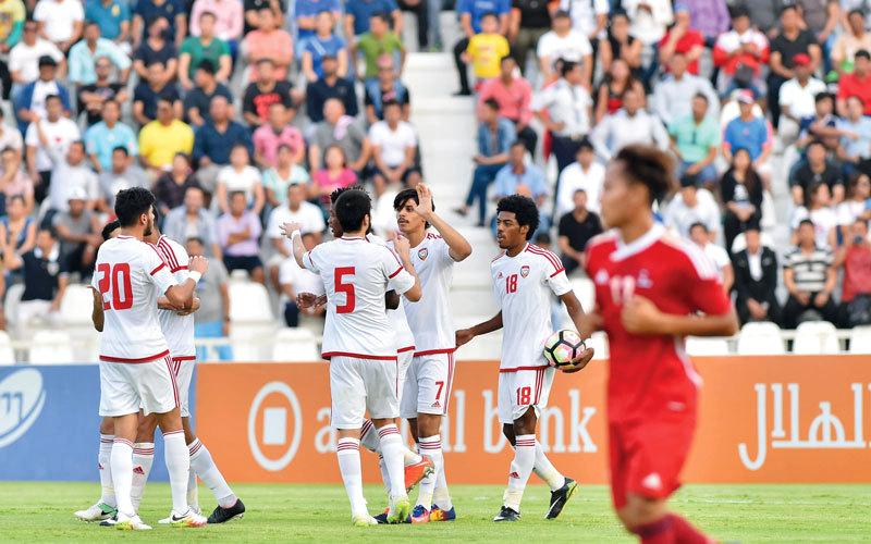 المنتخب الأولمبي حقق فوزاً ثميناً على نيبال في بداية مشوار التصفيات الآسيوية. من المصدر